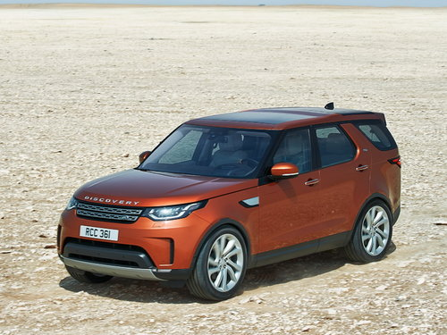 LAND ROVER DISCOVERY V 2016 - НАСТ.ВРЕМЯ