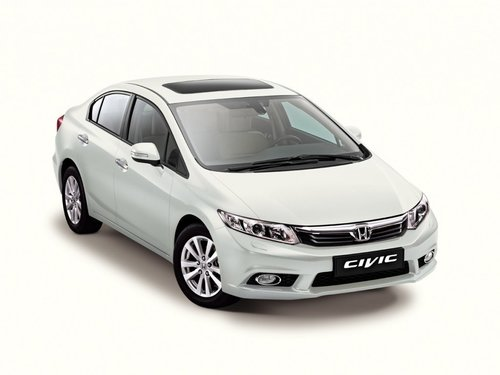 HONDA CIVIC 4D sedan 2012-2015